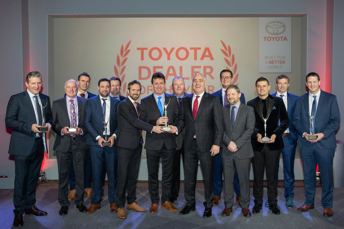 Toyota Dealer Awards December 2018