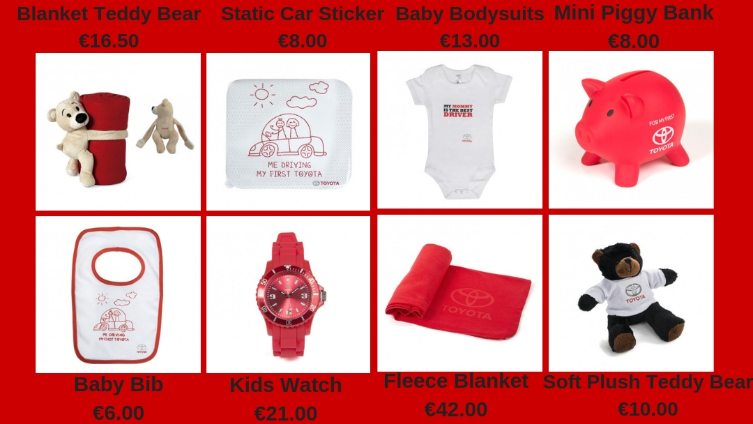Toyota Kid's Merchandise