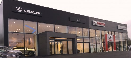 Lehane Motors have relocated both Toyota & Lexus Dealerships to Airport Road, Cork
