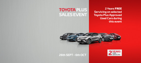 Toyota Plus September Sales Event