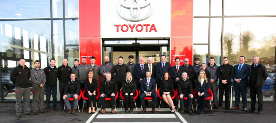 Toyota Ireland Announces Lehane Motors, overall Winner of the Annual Dealer of the Year Awards 2017