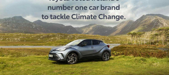 TOYOTA IS VOTED IRELAND'S NUMBER ONE CAR BRAND