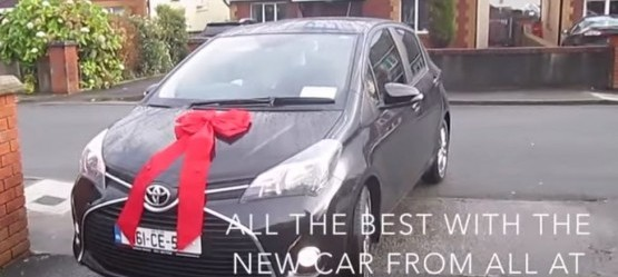 You've gotta watch this Super Yaris Suprise…