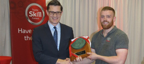 Conor Bowen Awarded Toyota Technician of the Year 2018